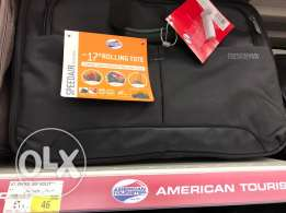 American tourister laptop trolley