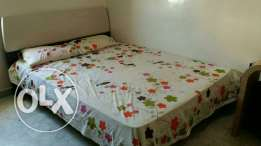 King size cot + mattress