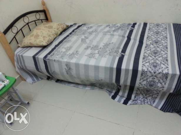 Single Cot with Medicated Bed