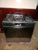 Cooking range with gas oven..in good working condition.