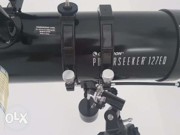Powerseeker 127EQ Telescope for sail المضيبي -  2