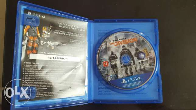 Tom clancy's THE DIVISION PS4 .Great condition. Text on WHATSAPP! السيب -  2