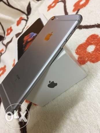 Excellent Condition Apple IPhone 6s Plus Space Gray for sale مسقط -  4