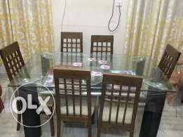 New Dining Table and 6 Chairs
