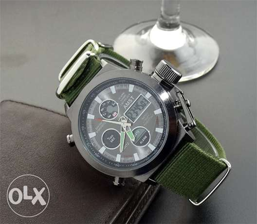 New AMST Watches Men water resistant urgent sale مسقط -  7