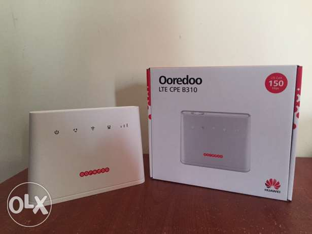 Only 5 days used Ooredoo wifi modem with full packing for sale