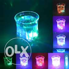 led colour changing drinking glass