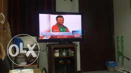 Samsung Led (56 inch) with dish TV