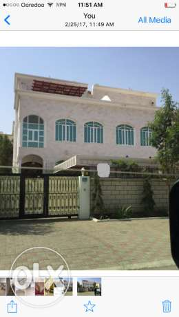 villa for rent in alhail north with earopian style