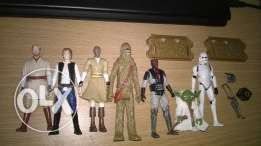 Star wars limited collectibles, never used, collectors' delight.