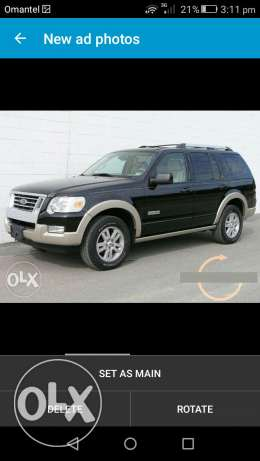 Ford explorer no.1 full option for Sale or continue instsllment 2007