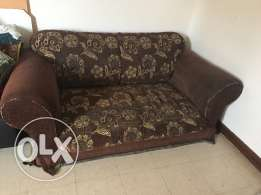 Sofa + 8 pieces sofa seat set with teapoy
