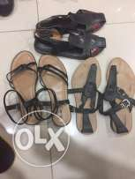 ladies sandals in good condition