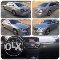 2008 Mercedes S550 silver for sale