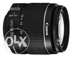 Urgently sale Canon lenc 18-55mm