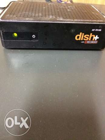 Dish tv plus receiver with remote recharge India مسقط -  1