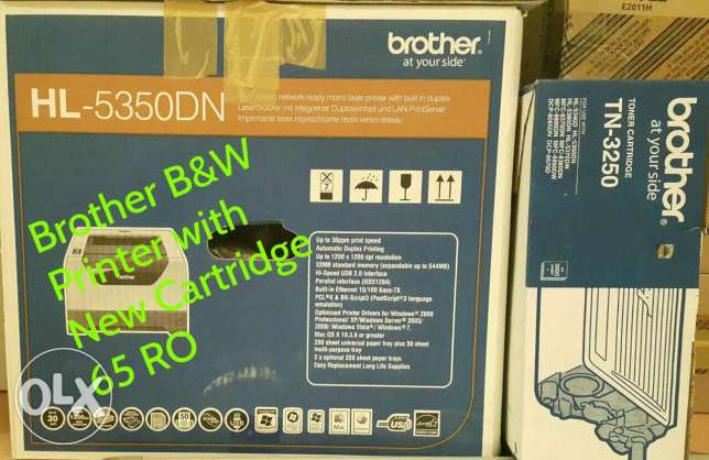 Printer B/W (Brother HL-5350DN)