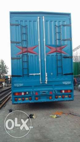 brand new body trailers for sale 4 axle more than 100 ton capacity