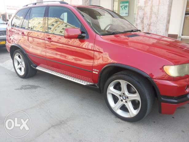 BMW X5 4.6is full OPTIONS agency Oman 2003 free ACCIDENT oreginal PAI مطرح -  3