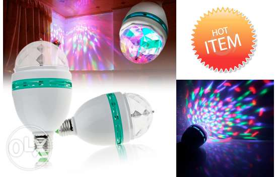 led rotating light