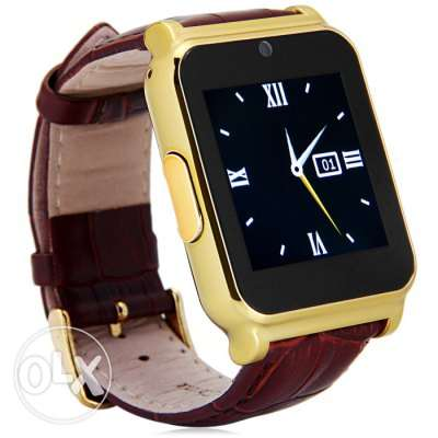 W90 Smart Watch Phone - GOLDEN SIM Bluetooth Camera مسقط -  1