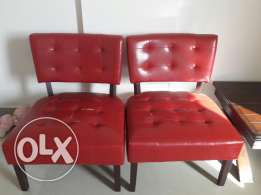 2 chairs bought 8 months back. Need repair. Damage due to shifting.