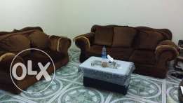 Sofa Set 7 Seater (3+2+1+1) Very Clean