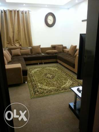 Fully furnished apartment monthly rent is located near aljumlah center ازكي -  1