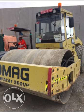 Bomag Roller Compactor