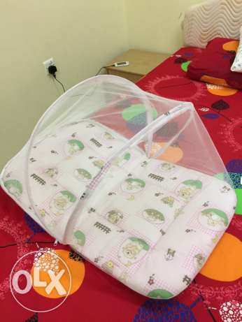 baby carry bed with mosquito net