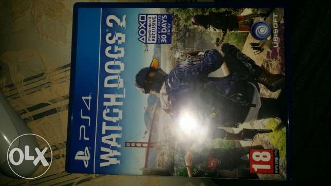 Watch dogs 2 للبيع
