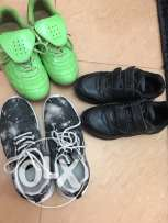 3pairs of used shoes for boys.500baiza each,all for 1.5Ro