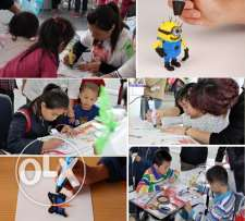 Creative Summer Classes for Kids-3d Pen Play
