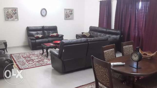 furnished appartment for rent in alqurom in barik al chateeq مسقط -  1