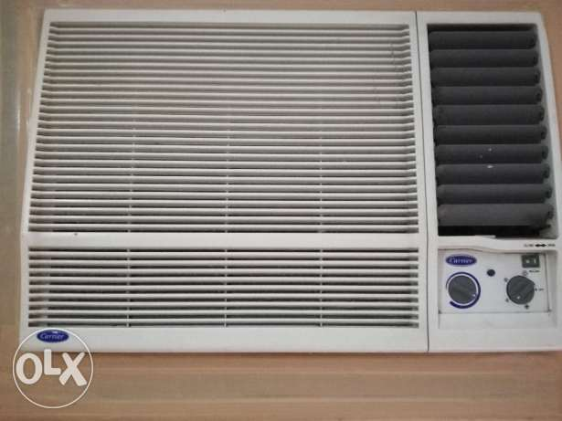 2 Ton Carrier Window A/C in good working condition for sale