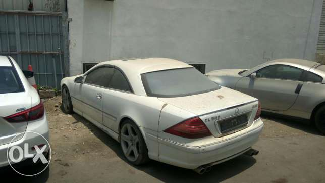 2001 Mercedes-Benz CL-500 ( Not Running )