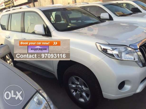 SUV car for daily rent Mitsubishi Pajero 2017 مسقط -  2