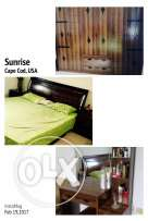 complete bed set without mattress