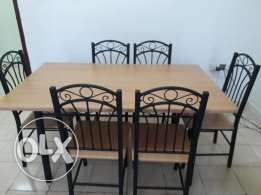 Excellent condition Sofa set and dinning table