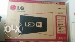 """Lg led full hd 42"""" with setup box full hd(buyIng from india)"""