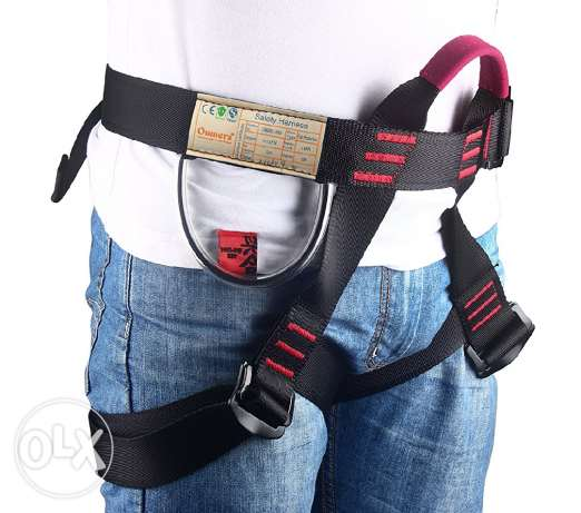 Climbing Harness, Oumers Safe Seat Belts For Mountaineering Outward Ba