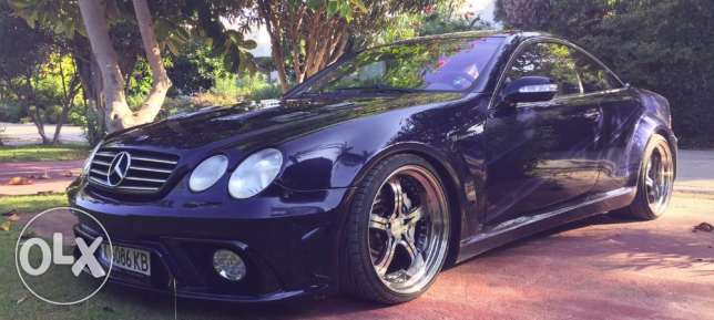 Mercedes Benz CL55 AMG 5.5 MEC Design Black Edition مسقط -  2
