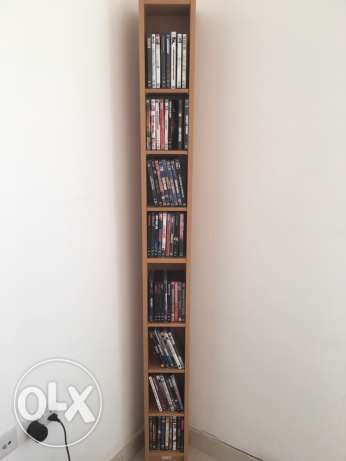 DVD and rack