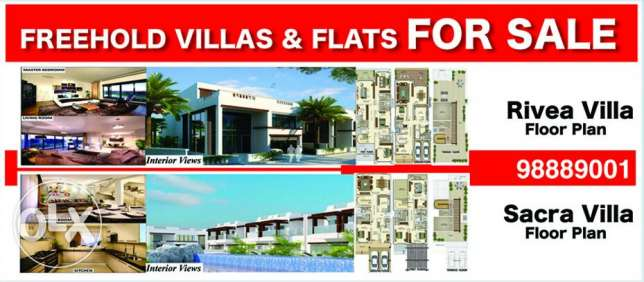 Falts & villas for sale