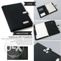 Notebook with powerbank