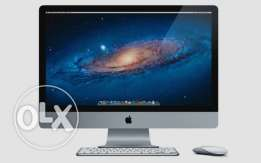 Apple iMac 27-inch Desktop (Intel Core i5 3 GHz, 8+4 GB RAM, 1TB HD