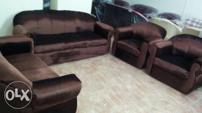 Brand new 7 seater sofa set مسقط -  7