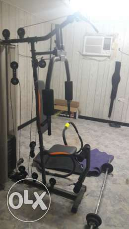 Gym and fitness items