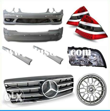 Mercedes used orginal and new duplicate body parts for sale مسقط -  1