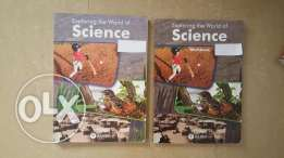 Grade 4 science book and work book of chouifat school